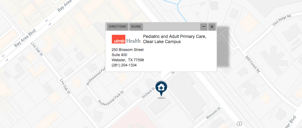 Pediatric and Adult Primary Care, Clear Lake Campus