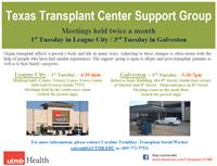 UTMB Transplant Support Group