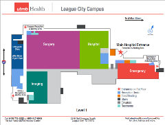 League City Campus Floorplans