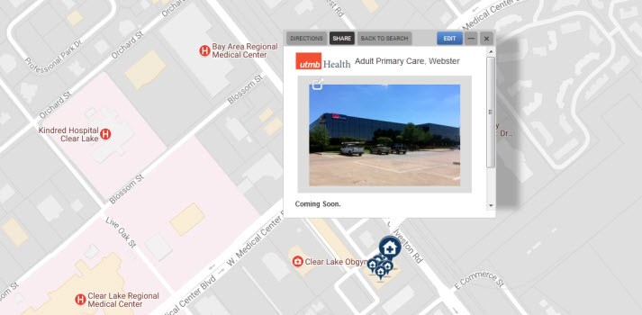 Adult Primary Care Webster Utmb Health Utmb Home