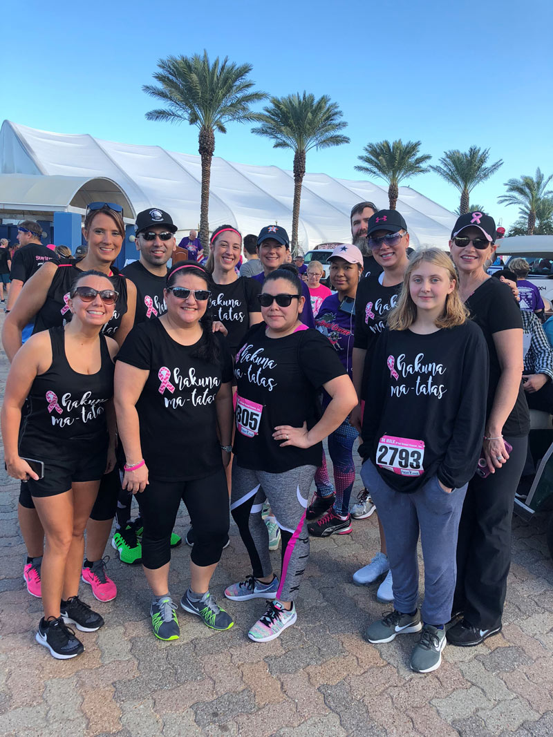 D'Feet Breast Health Clinic Team
