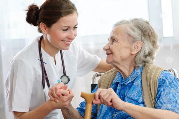 Nurse  Senior Woman