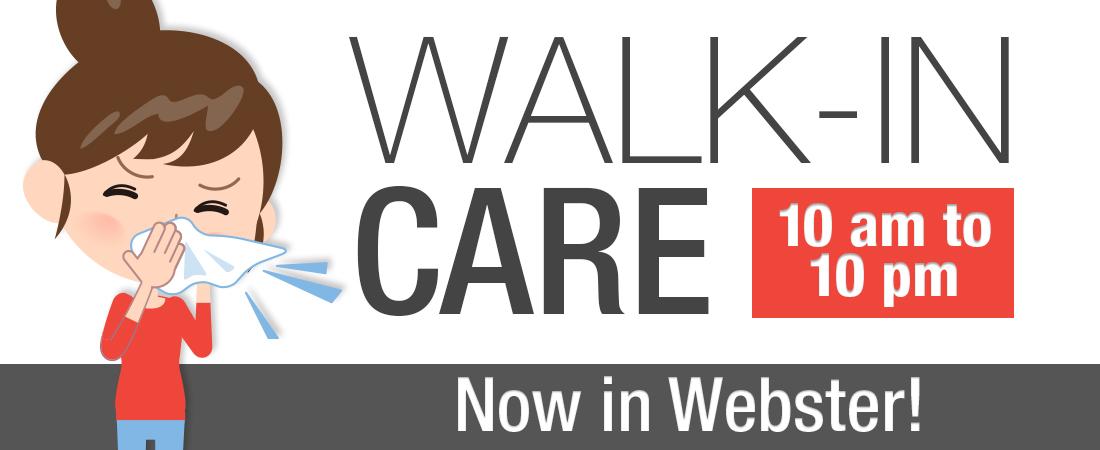 New Webster Walk-in clinic