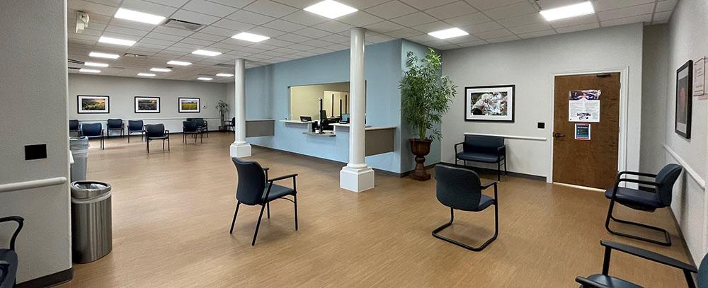 Newly remodeled Regional Women's Services & Pediatrics lobby